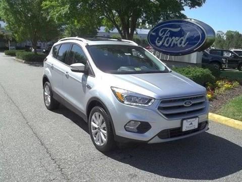 2017 Ford Escape for sale in Williamsburg, VA