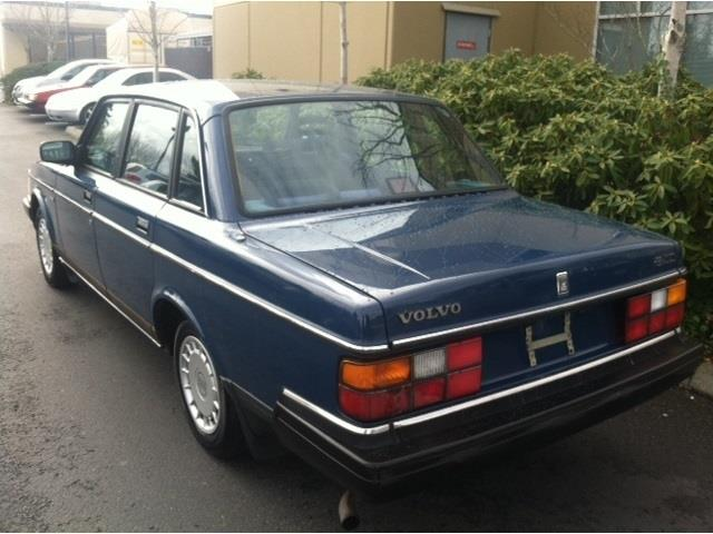 Used volvo 240 for sale for Bay city motors san leandro