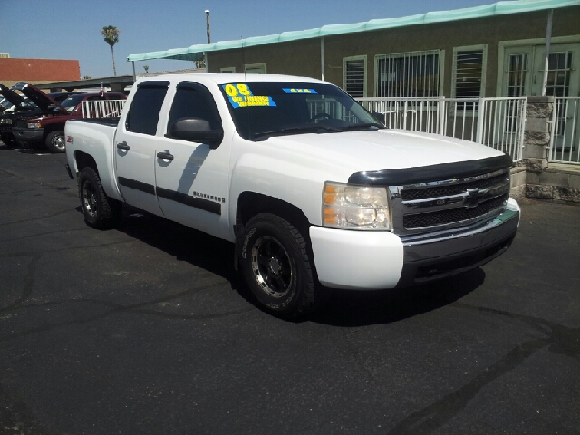 2008 CHEVROLET SILVERADO 1500 LS 4WD 4DR CREW CAB 58 FT SB white this vehicle comes with a five
