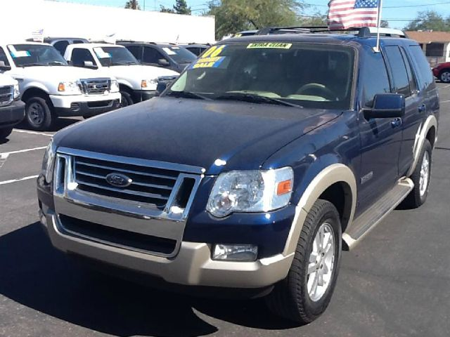 2006 FORD EXPLORER EDDIE BAUER 46L 2WD blue abs brakesair conditioningalloy wheelsamfm radio