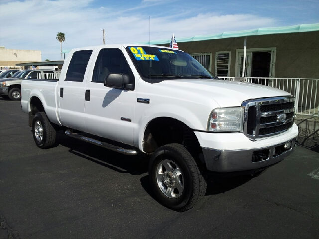 2007 FORD F-250 LARIAT white clean 225699 miles VIN 1FTSW21P37EA07827