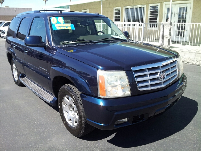 2004 CADILLAC ESCALADE 2WD royal blue metallic clean 95162 miles VIN 1GYEC63T74R158000