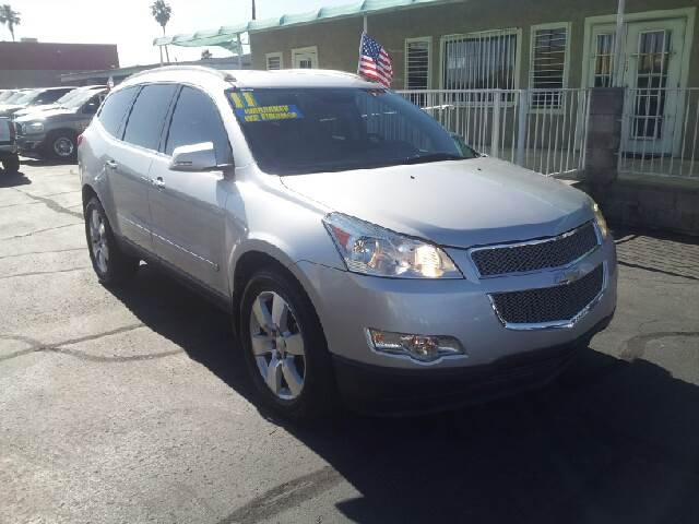 2011 CHEVROLET TRAVERSE LTZ AWD 4DR SUV silver clean 4wd type - full time abs - 4-wheel airbag