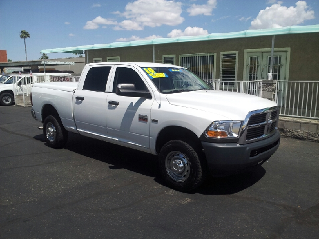 2010 DODGE RAM PICKUP 2500 SLT 4X4 4DR CREW CAB 63 FT SB white clean 4wd selector - electronic