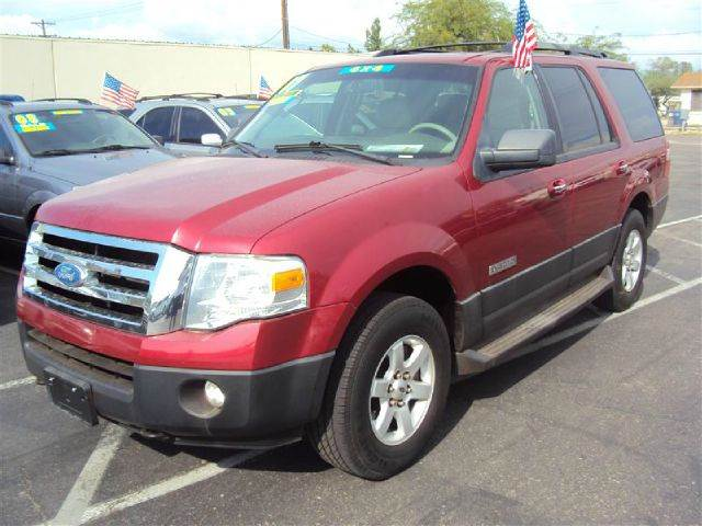 2007 FORD EXPEDITION XLT 4WD red 4wdawdabs brakesair conditioningalloy wheelsamfm radioanti