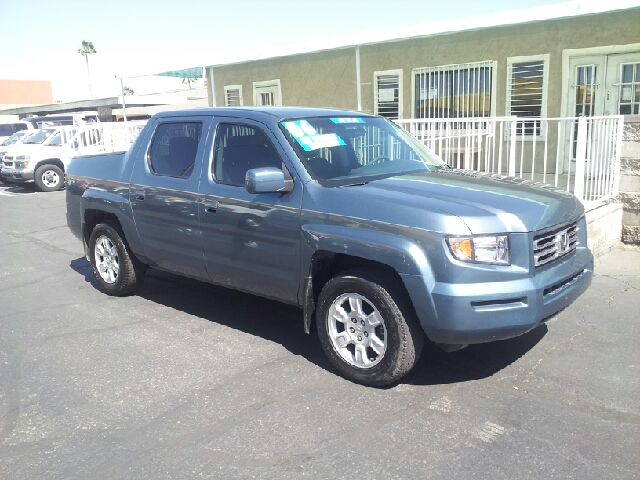 2006 HONDA RIDGELINE RTS AWD 4DR CREW CAB blue clean 4wd type - full time abs - 4-wheel air fil