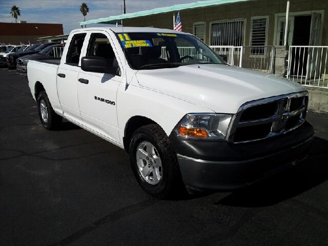 2011 DODGE RAM PICKUP 1500 ST white clean 107578 miles VIN 1D7RB1GK3BS696624
