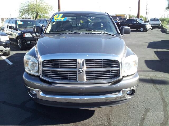 2007 DODGE RAM PICKUP 1500 SLT gray metallic clean 133127 miles VIN 1D7HU18P37S230179