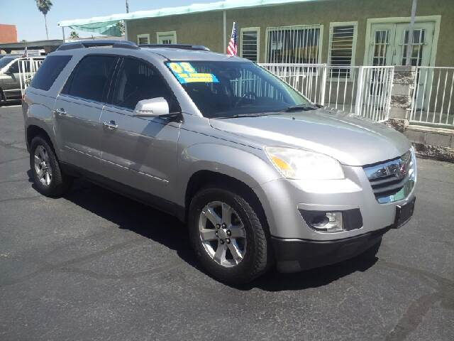 2008 SATURN OUTLOOK XR 4DR SUV silver clean 2-stage unlocking - remote abs - 4-wheel airbag dea