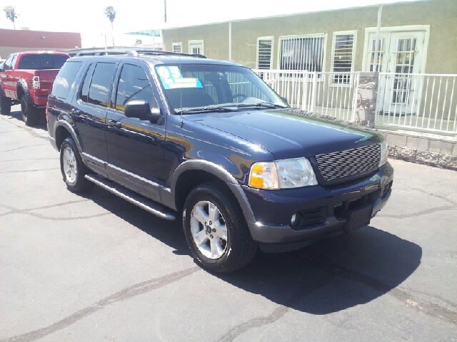 2003 FORD EXPLORER XLT 4DR SUV navy blue metallic clean abs - 4-wheel anti-theft system - alarm