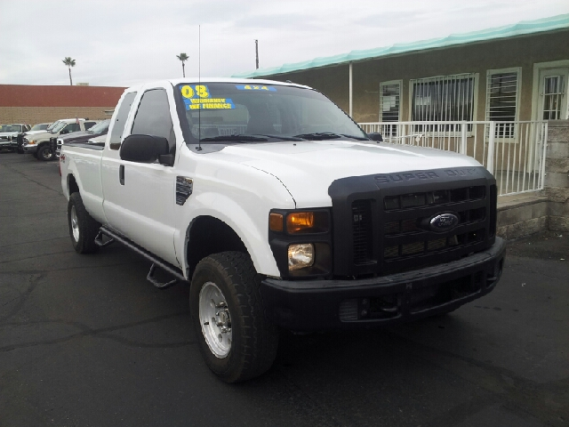 2008 FORD F-250 SUPER DUTY XL 4DR SUPERCAB 4WD LB white clean 4wd type - part time abs - 4-wheel
