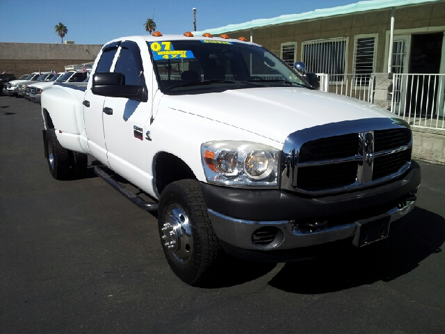 2007 DODGE D350 PICKUP SLT lt grey clean 90526 miles VIN 3D7MX48A176808676