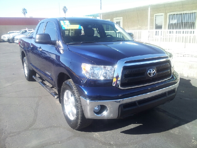 2012 TOYOTA TUNDRA DOUBLE CAB drk blue clean 50943 miles VIN 5TFRM5F1XCX037089