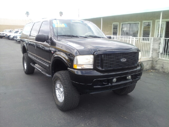 2001 FORD EXCURSION XLT black clean 197401 miles VIN 1FMSU43F21ED43008