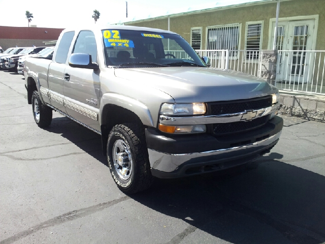 2002 CHEVROLET SILVERADO 2500HD LS 4DR EXTENDED CAB 4WD SB pewter clean abs - 4-wheel anti-theft