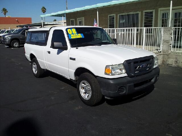 2008 FORD RANGER XL white clean 119049 miles VIN 1FTYR10DXPB14480