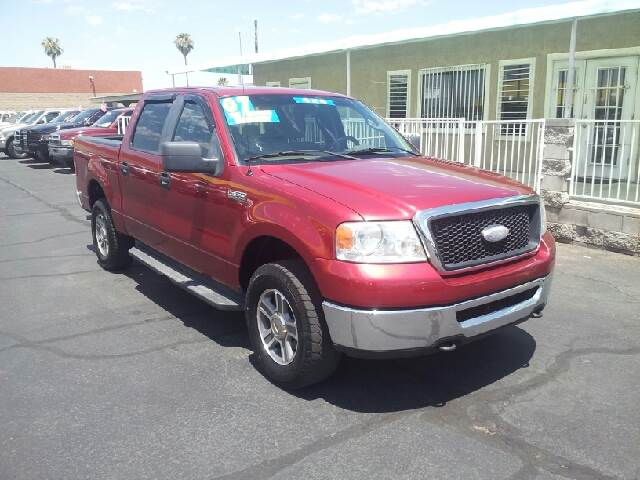 2007 FORD F-150 XLT 4DR SUPERCREW 4WD STYLESIDE burgundy clean 2-stage unlocking - remote 4wd ty