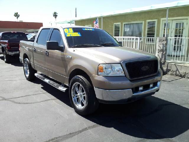2005 FORD F-150 XLT 4DR SUPERCAB 4WD STYLESIDE 5 desert sandstone clean abs - 4-wheel axle ratio