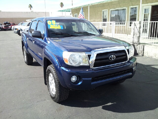 2008 TOYOTA TACOMA PRE RUNNER saphire blue metallic uber clean 132766 miles VIN 5TEJU62N68Z513