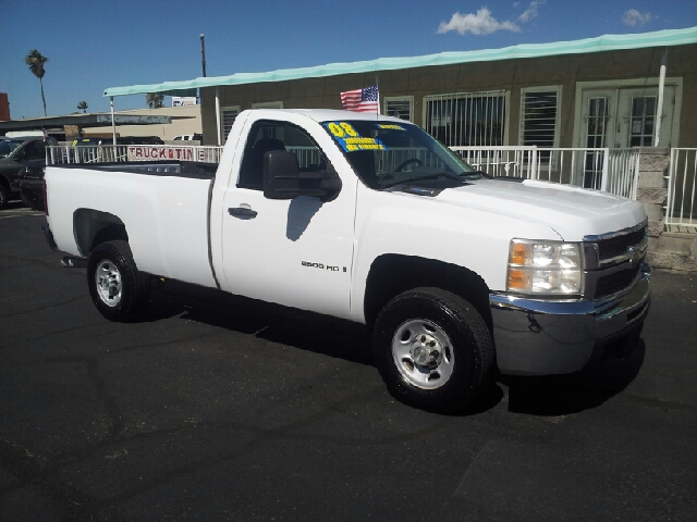 2008 CHEVROLET SILVERADO 2500HD LT1 2WD 2DR REGULAR CAB LB white clean abs - 4-wheel air filtrat