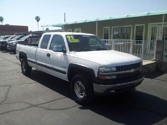 1999 CHEVROLET SILVERADO 2500 LT 3DR 4WD EXTENDED CAB LB HD white clean abs - 4-wheel anti-theft