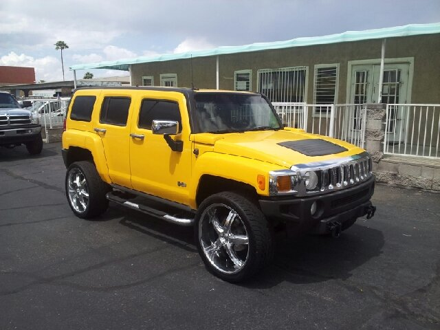 2006 HUMMER H3 BASE 4DR SUV 4WD yellow clean 4wd type - full time abs - 4-wheel airbag deactiva