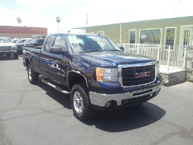2007 GMC SIERRA 2500HD SLE1 4DR EXTENDED CAB 4X4 LB navy blue metallic clean 2-stage unlocking -