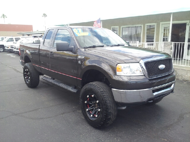 2007 FORD F-150 XLT 4DR SUPERCAB 4WD STYLESIDE 6 medium gray metallic clean 2-stage unlocking doo