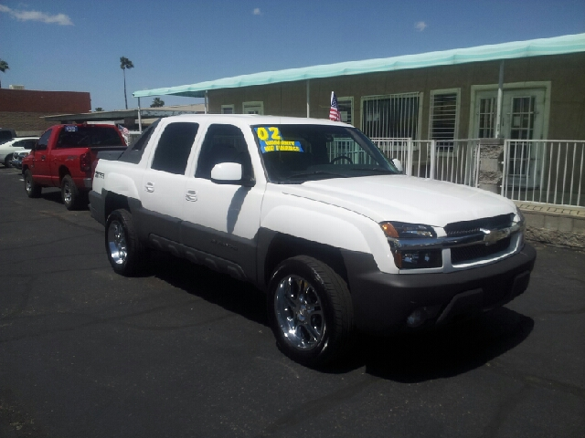 2002 CHEVROLET AVALANCHE 1500 4DR CREW CAB SB 2WD white nice abs - 4-wheel anti-theft system - a