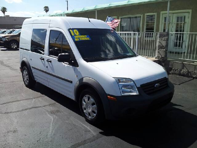 2010 FORD TRANSIT CONNECT CARVO XL white clean 86520 miles VIN NM0LS6AN4AT029681