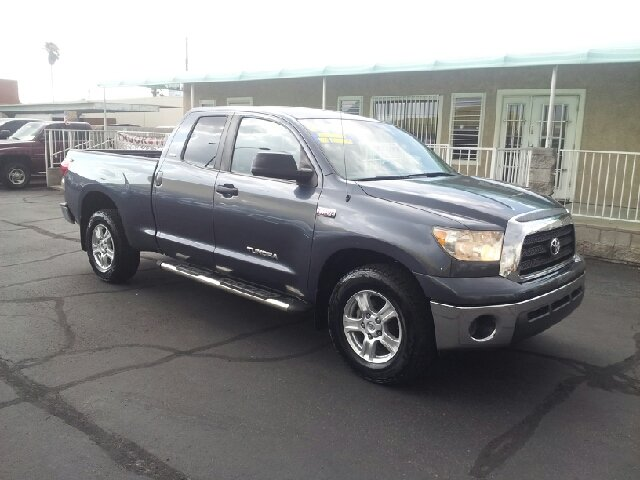 2008 TOYOTA TUNDRA GRADE 4X4 4DR DOUBLE CAB SB 47 steel blue metallic clean 2-stage unlocking -