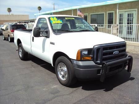 2006 FORD F350 XL 2WD unspecified abs brakesamfm radioanti-brake system 4-wheel absbody style