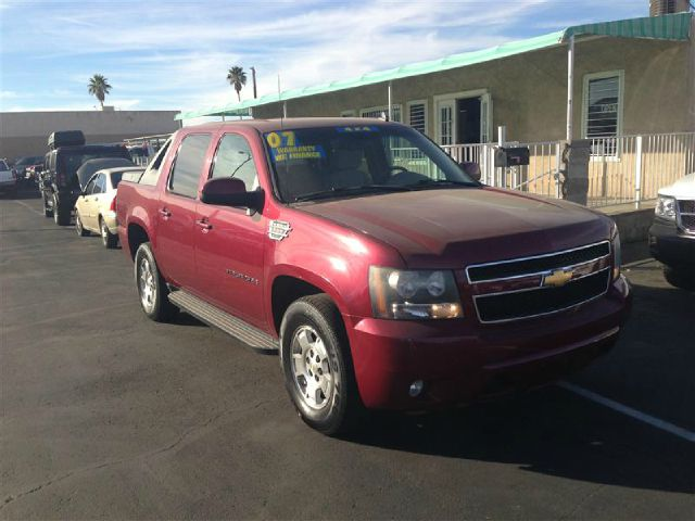 2007 CHEVROLET AVALANCHE LS 4WD red 4wdawdabs brakesair conditioningalloy wheelsamfm radioa