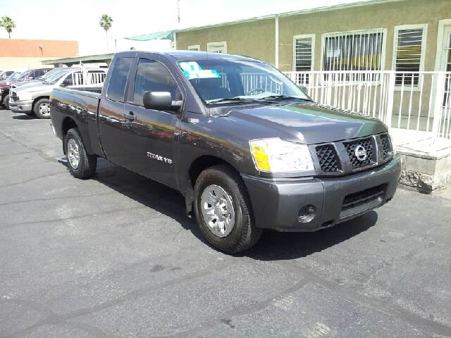 2007 NISSAN TITAN SE 4DR CREW CAB SB med gray clean 2-stage unlocking - remote abs - 4-wheel ai