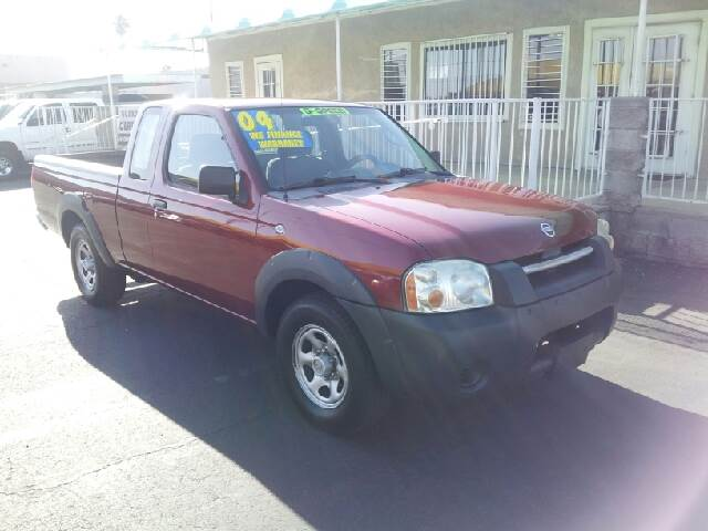 2004 NISSAN FRONTIER KING CAB maroon clean options listextended cab short box 2 wheel drive r