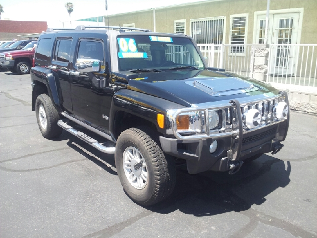 2006 HUMMER H3 BASE 4DR SUV 4WD black clean 4wd type - full time abs - 4-wheel airbag deactivat