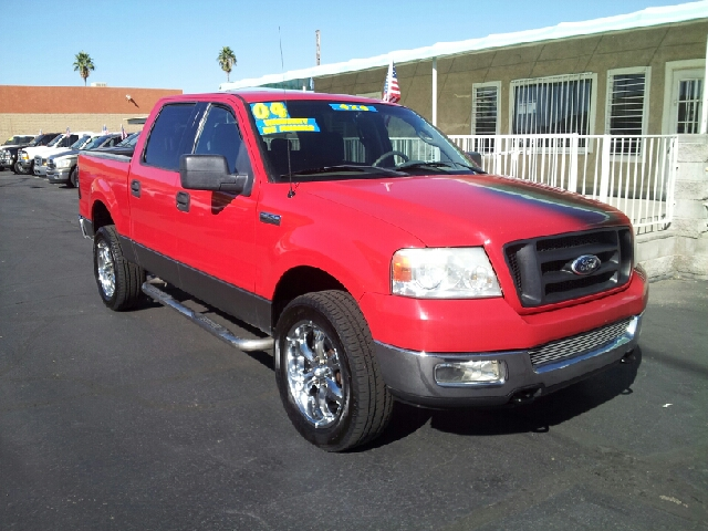 2004 FORD F-150 XLT red clean 182914 miles VIN 1FTPW14534KD17872