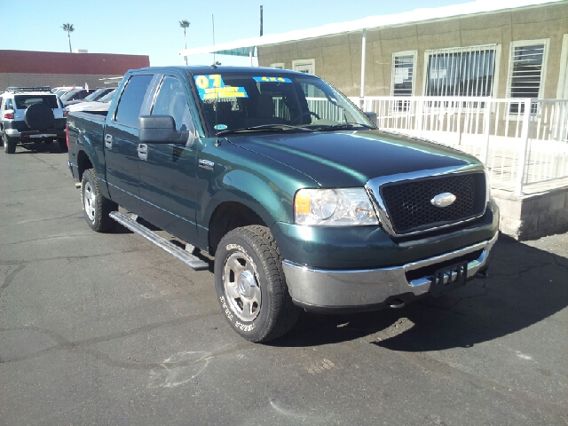 2007 FORD F-150 XLT 4DR SUPERCREW 4WD STYLESIDE green clean 2-stage unlocking doors 4wd type - p