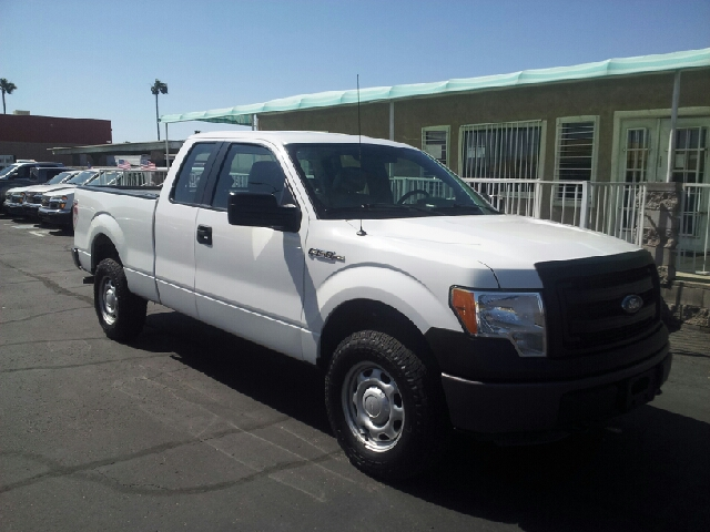 2013 FORD F-150 XL 4X4 4DR SUPERCAB STYLESIDE 6 white clean 4wd selector - electronic hi-lo 4wd