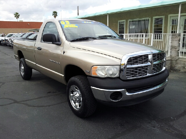 2003 DODGE RAM PICKUP 2500 ST 2DR REGULAR CAB 4WD LB gold clean abs - 4-wheel axle ratio - 373