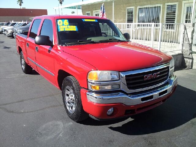 2006 GMC SIERRA 1500 SLE red clean 119383 miles VIN 2GTEC13T961163526