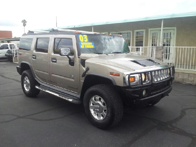 2003 HUMMER H2 LUX SERIES 4DR 4WD SUV pewter clean abs - 4-wheel anti-theft system - alarm axle