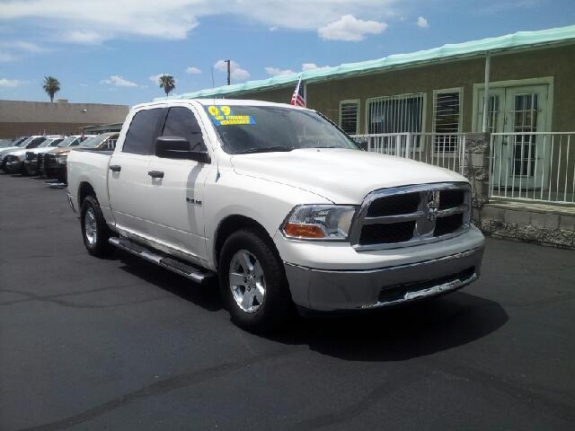 2009 RAM RAM PICKUP 1500 SLT white clean 82208 miles VIN 1D3HB13P89S748385