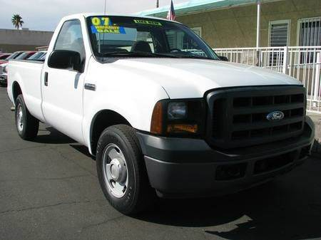 2007 FORD F-250 XL 2WD white abs brakesair conditioningalloy wheelsamfm radioanti-brake syste