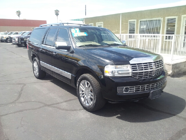 2007 LINCOLN NAVIGATOR L LUXURY 4DR SUV black clean 2-stage unlocking - remote abs - 4-wheel ad