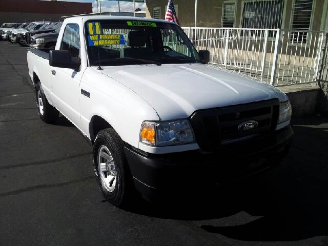 2011 FORD RANGER XL white clean air conditioning amfm radio amfm radio wcd player anti-lock