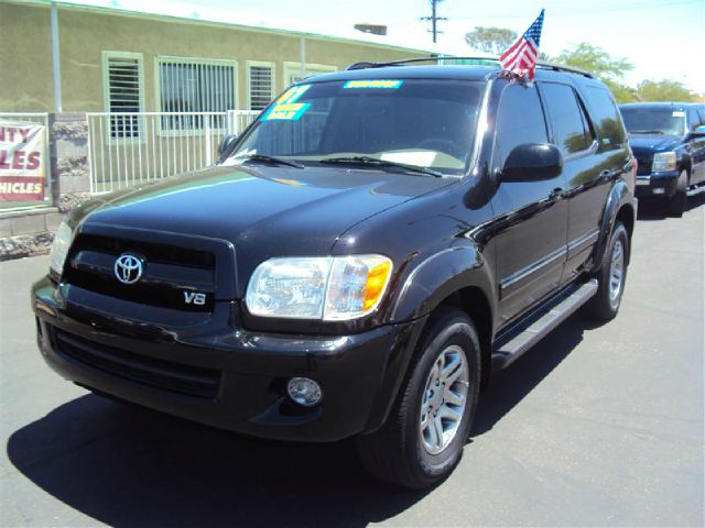2007 TOYOTA SEQUOIA SR5 2WD black abs brakesair conditioningamfm radioanti-brake system 4-whe