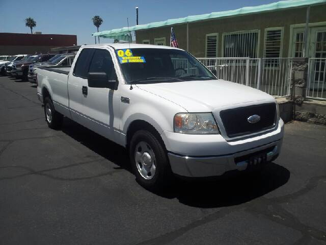 2006 FORD F-150 XLT 4DR SUPERCAB STYLESIDE 8 FT white clean abs - 4-wheel airbag deactivation -