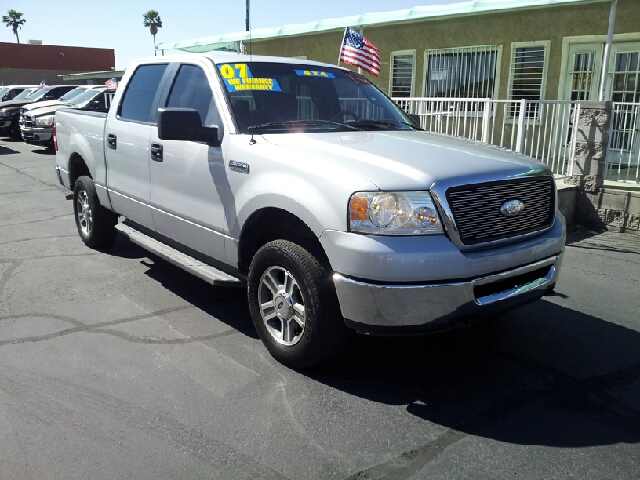 2007 FORD F-150 XLT 4DR SUPERCREW FLARESIDE 65 silver clean 2-stage unlocking - remote abs - 4-
