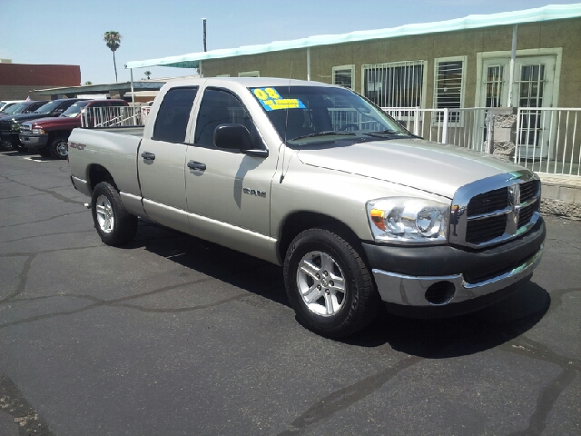 2008 DODGE RAM PICKUP 1500 ST 4DR QUAD CAB SB RWD gray metallic clean abs - rear airbag deactiva